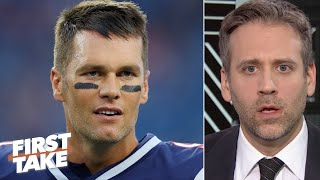 Max Kellerman blames 'old man' Tom Brady for the Patriots' loss to the Dolphins | First Take