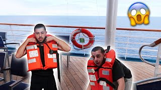 OUR CRUISE SHIP IS SINKING PRANK!!