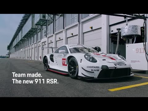 The new Porsche 911 RSR. Team made: Gamers