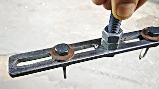 Make a Amazing Useful DIY Tool || Make Hole Saw Cutter