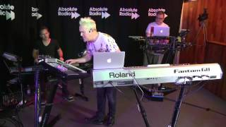Howard Jones performs 'Things Can Only Get Better' for Absolute Radio