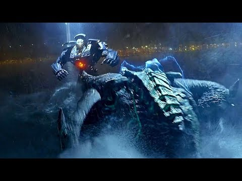 Gipsy Danger vs Leatherback - Fight Scene - Pacific Rim (2013) Movie Clip HD