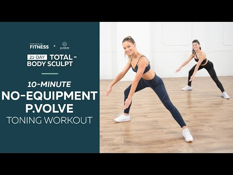 10-Minute No-Equipment P.volve Toning Workout
