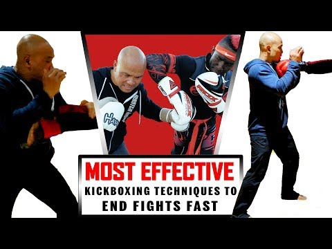 Most Effective Kickboxing techniques to End Fights Fast