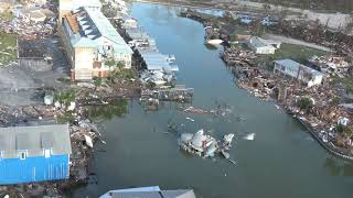 Helicopter Video Captures the Aftermath of Hurricane Michael in Mexico Beach, Florida