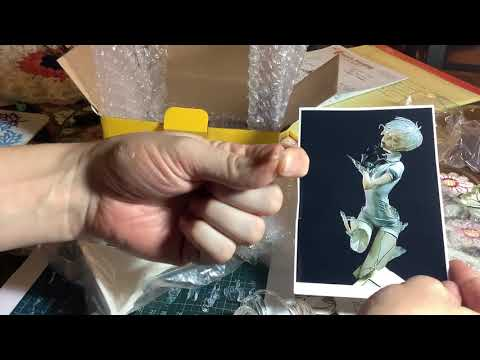 Antarticite from Land Of the Lustrous Unboxing