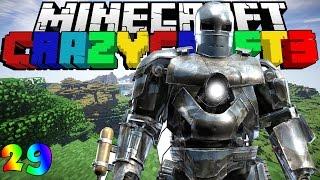 Minecraft CrazyCraft 3.0 #29 - IRON MAN PHIÊN BẢN MARK I w/GBGamez