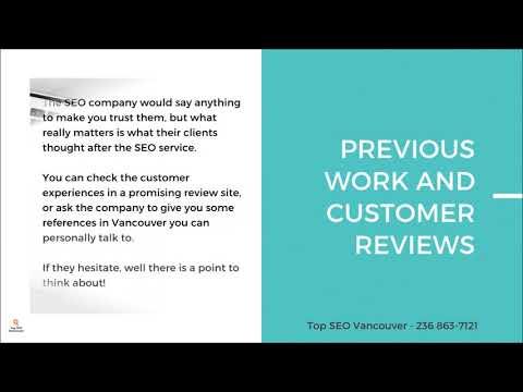 Vancouver SEO Consultant | SEO Vancouver | SEO Canada