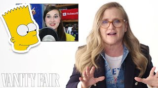 Nancy Cartwright (Bart Simpson) Reviews Impressions of Her Voices | Vanity Fair