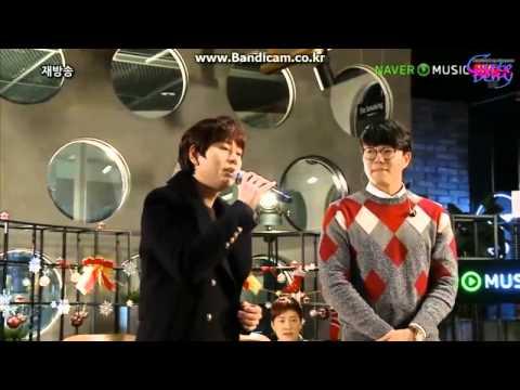 141210 규현(KYUHYUN) sings 두사람(two people) on Winter wonderland