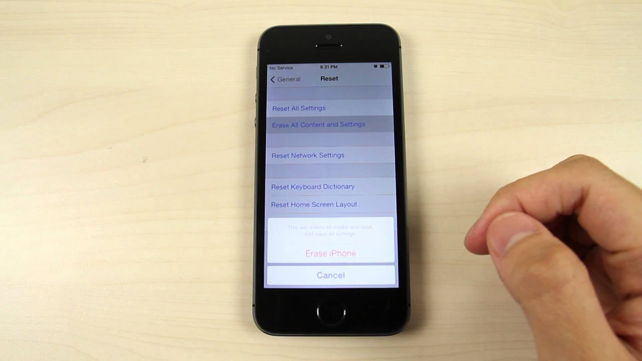 how to reset an iphone 5s how to master reset apple iphone 5s 19014