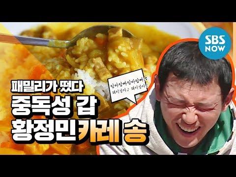레전드 예능 [패밀리가 떴다] 황정민(Hwang Jung Min) 중독성 갑 카레송 / 'Family Outing' Review