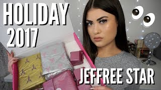 NEW Jeffree Star Cosmetics HOLIDAY GLITTER COLLECTION! 2017