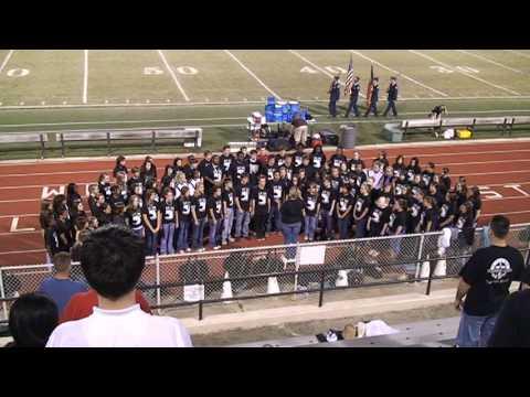 HoCo High Chorus - National Anthem