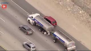Riverside County CA Carjacking Suspect Leads Police In High Speed Police Pursuit - March 7, 2020