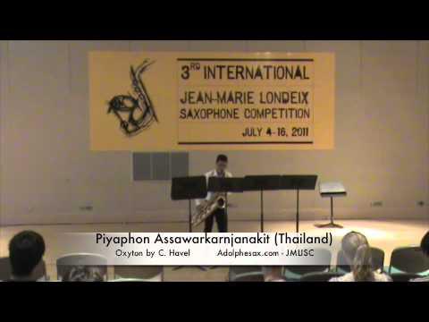 3rd JMLISC Piyaphon Assawarkarnjanakit. Oxyton by C. Havel