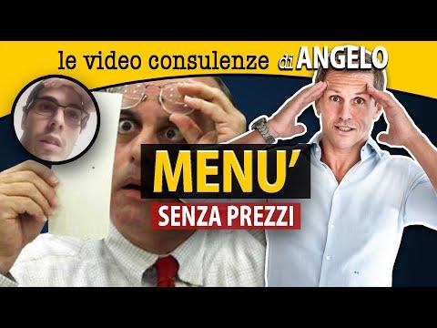 Menù senza prezzi | avv. Angelo Greco