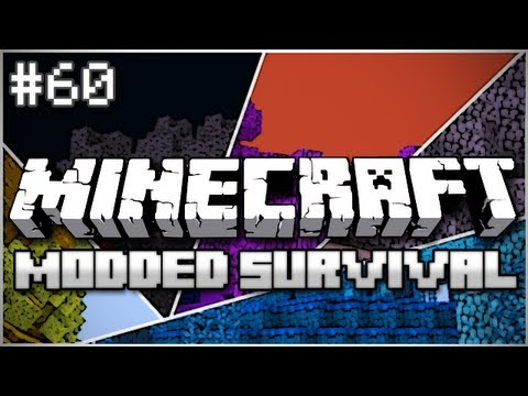 Minecraft: Modded Survival Let's Play Ep. 60 - The Trees Live! - Smashpipe Games