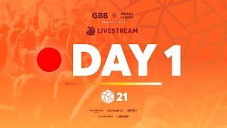 Grand Beatbox Battle 2021: World League   Day 1   Official Livestream