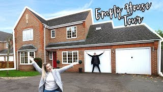 OUR NEW EMPTY HOUSE TOUR 2017!