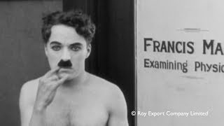 Charlie Chaplin - Deleted Scene from Shoulder Arms (with piano accompaniment)
