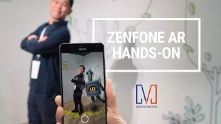 ASUS Zenfone AR w/ Project Tango Hands-On: Sims in Real Life!