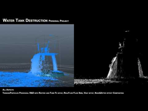 cebas youtube presents New Talent, Cloud Park of Blur Studio Demo Reel