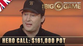 The Big Game S2 ♠️ E16 ♠️ Phil Hellmuth vs Loose Cannon SICK HERO CALLS ♠️ PokerStars UK