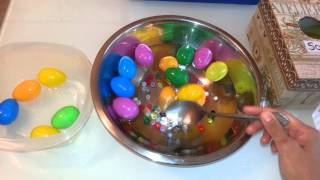 Toddler Activities with Easter Eggs!