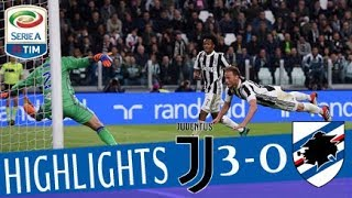 Juventus - Sampdoria 3-0 - Highlights - Giornata 32 - Serie A TIM 2017/18