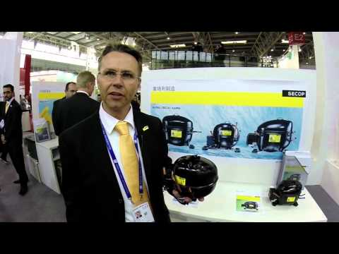 Exclusive interview with Helmut Greiner, Secop Austria at China Refrigeration 2014