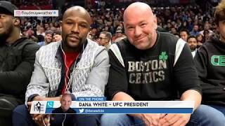 How Dana White Landed His Latest Floyd Mayweather UFC Deal | The Rich Eisen Show | 12/5/19