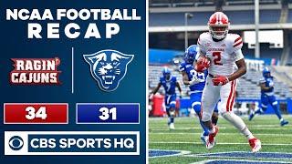 #19 Louisiana-Lafayette vs Georgia State: NCAA Football Recap | 09-19-2020 | CBS Sports HQ