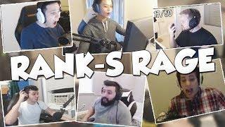 Best RANK-S/PUG Rage Moments! Ft. Stewie2k, Tarik, Shroud, Steel...
