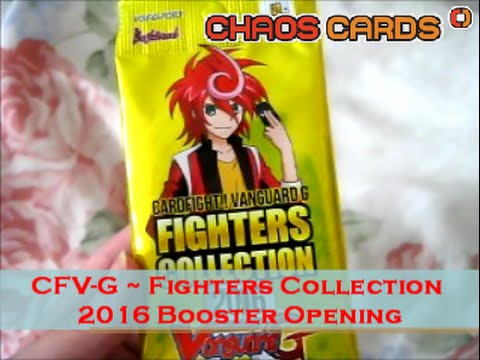 Cardfight!! Vanguard - G-FC03 : Fighters Collection 2016 Booster (3 cards)