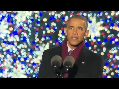 President Obama's Last Christmas Tree Lighting Speech