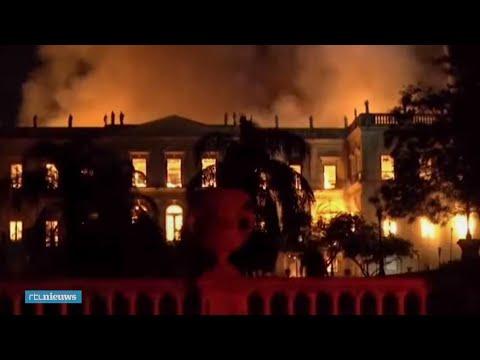 Jaar na verwoestende brand toch weer nieuwe expositie museum Rio de Janeiro - RTL NIEUWS