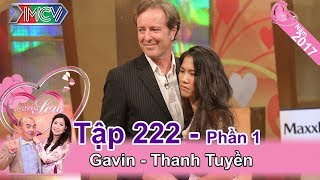 Foreign husband touched the audiences by the love for his wife| Gavin - Thanh Tuyen | VCS #222 😭