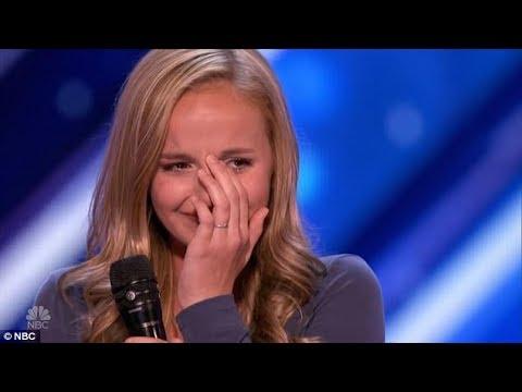 [Eng-Vietsub] Evie Clair: Rớt nước mắt cô bé đi thi để hát tặng người ba bị ung thư (America's GT)