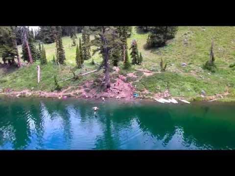 Bloomington Lake Drone