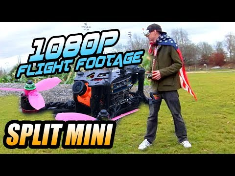 Runcam Split Mini - FULL FLIGHT TEST @ 1080p 60fps, DVR Footage & WIFI News!