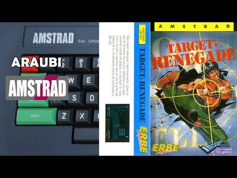Target Renegade (Imagine, 1988) Amstrad CPC [005] 2P con Rob Lucci Walkthrough Comentado