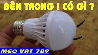 Bên trong bóng LED ion âm có gì và GIẢI OAN - Design of negative ion LEDs