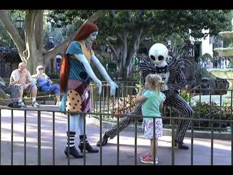 jack skellington and sally disneyland meet and greet
