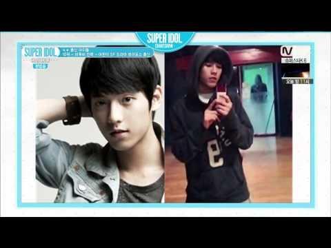 141031 Super Idol Chart Show BTOB Minhyuk CUT: 10위 - 민혁 - 어린이 SF 드라마 레이포스 출신