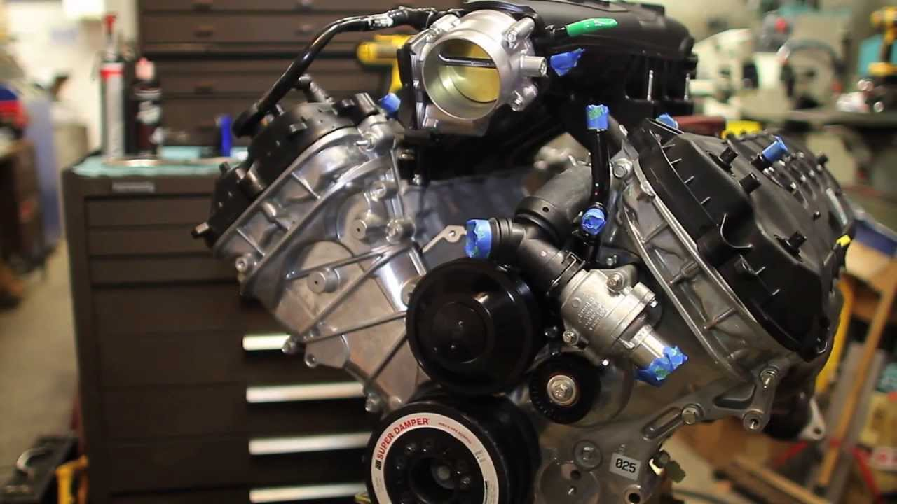 Ford Modular Engine >> Building a 1,000+ HP 5.0L Ford Coyote Turbocharged Engine ...