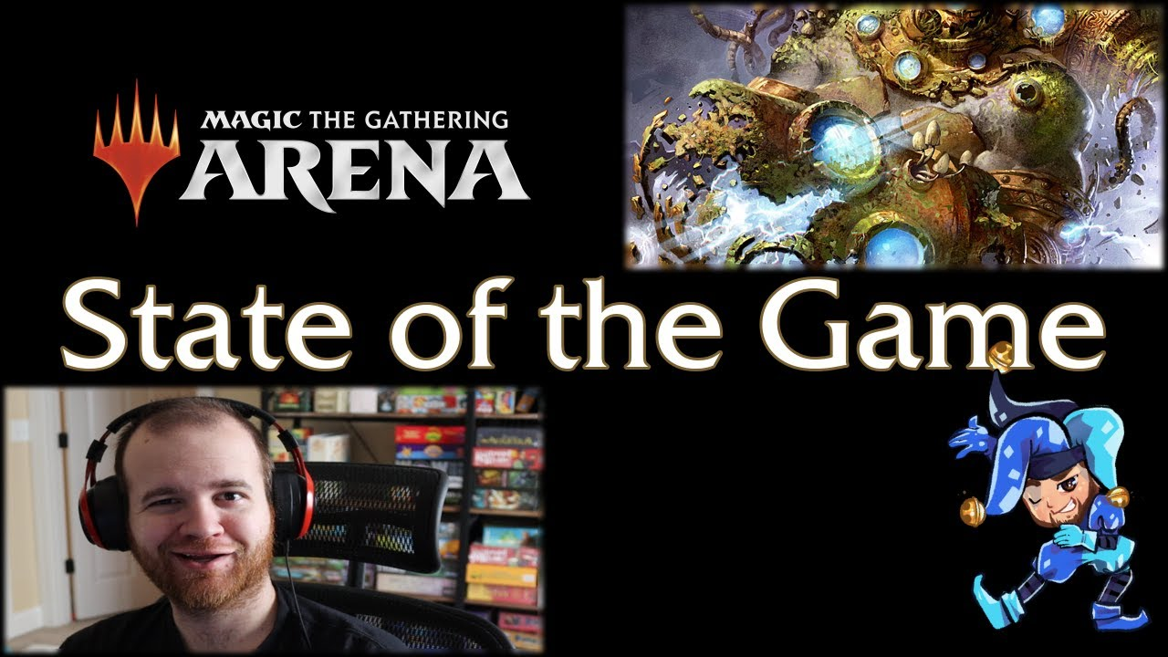 April State of the Game Reaction Video - Magic Arena