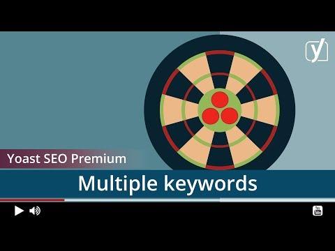 Yoast SEO Premium: multiple focus keywords