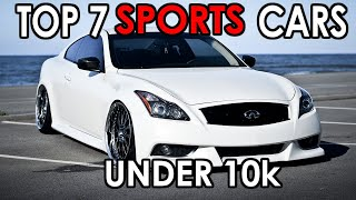 Top 7 Sports Cars Under 10K