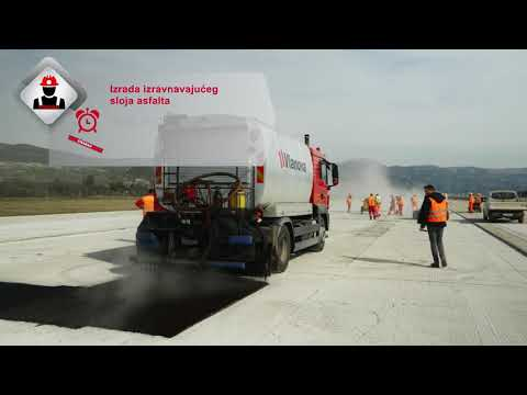 STRABAG - Split airport runway rehabilitaion - Croatia